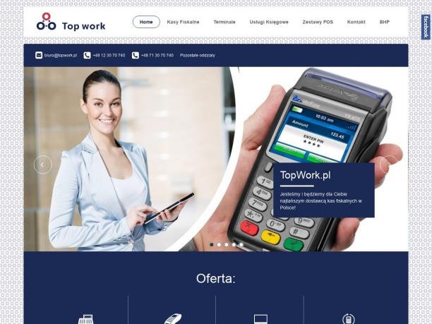 TopWork tanie kasy fiskalne drukarki fiskalne urządzenia fiskalne Posnet