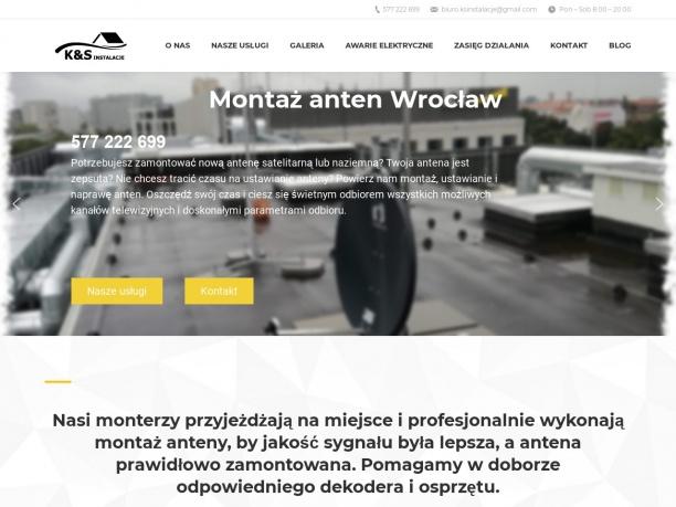 Ustawianie anten Wrocław