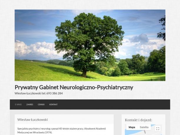 Wiesław Łuczkowski psychiatra neurolog