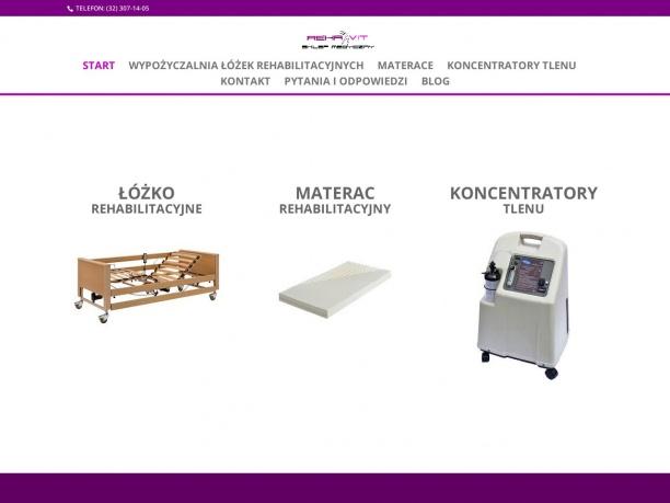wypożyczalnia łóżek rehabilitacyjnych