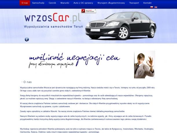 Wypożyczalnia samochodów Toruń