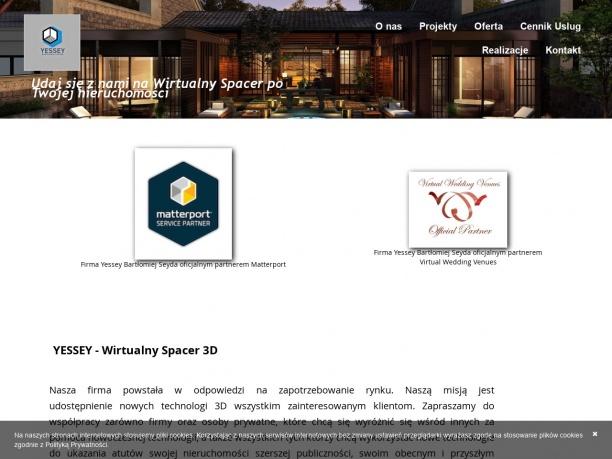 YESSEY Wirtualny Spacer 3D