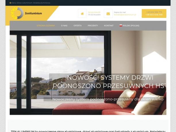 Zen Aluminium okna i drzwi aluminiowe