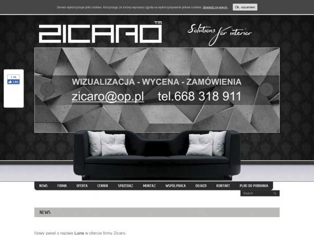 Zicaro producent ściennych paneli 3d