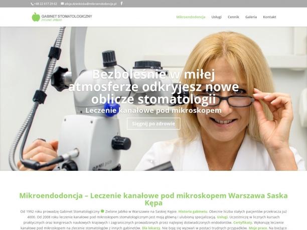 Zielone Jabłko Stomatologia Mikroskopowa i Endodoncja