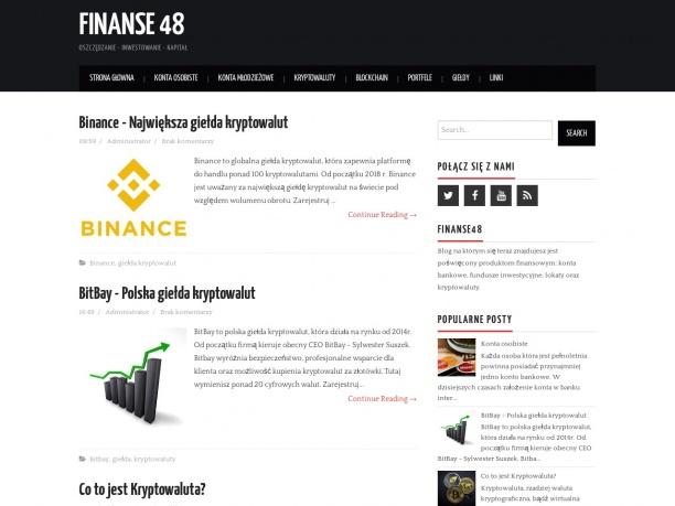 FINANSE48 Oszczędzanie-Inwestowanie-Kapitał