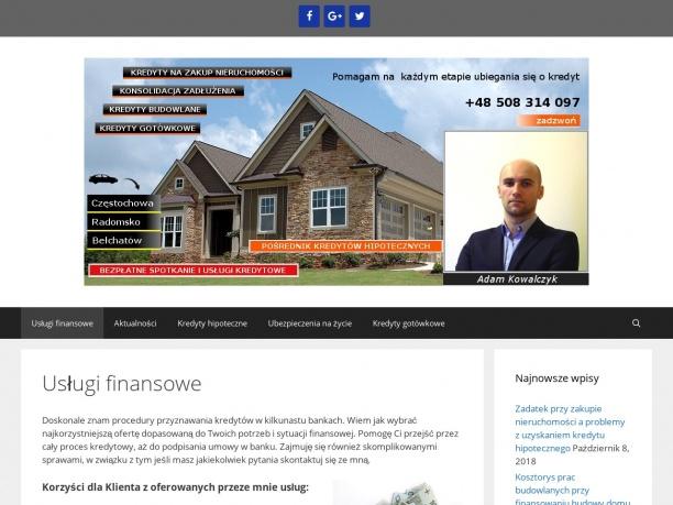 Kredyty hipoteczne Radomsko