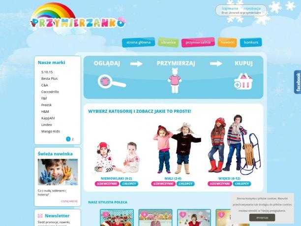 Wirtualna przymierzalnia ubranek dla dzieci
