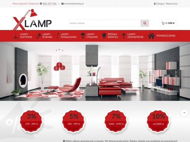 xlamp.pl - wyjątkwe lampy wiszące, ogrodowe, kinkiety - znanych marek w rozsądnych cenach - sprawdź koniecznie