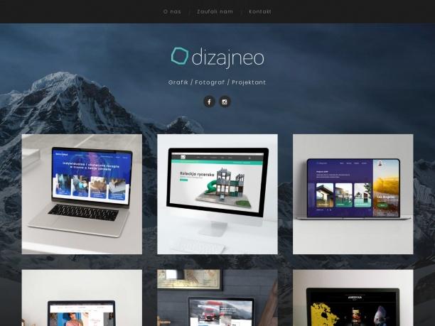 Dizajneo - grafika, fotografia, strony internetowe