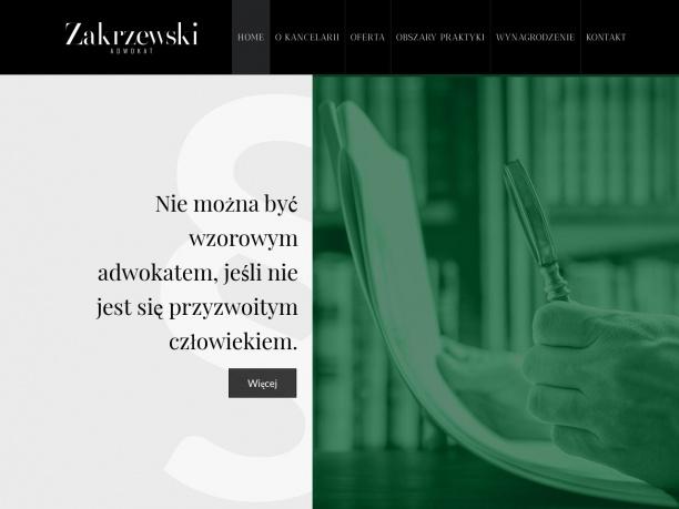 Kancelaria Adwokacka Adwokat Dawid Zakrzewski