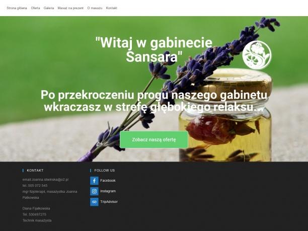 sansara-szczecin.pl/ gabinet masażu Szczecin