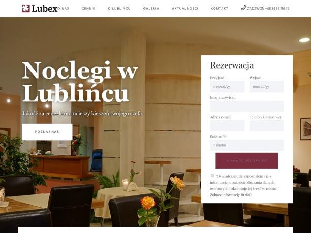 LUBEX - noclegi Lubliniec