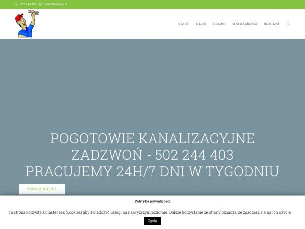 Pogotowie kanalizacyjne Łódź i okolice 24h/dobę 7 dni w tygodniu