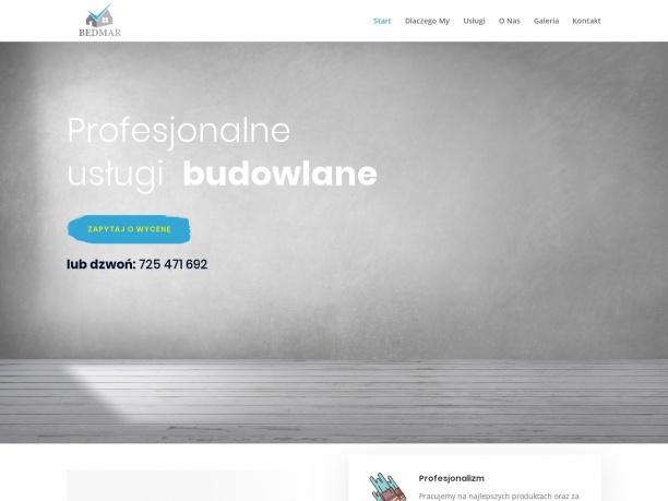 Profesjonalne wykończenia wnętrz - Bedmar Leszno