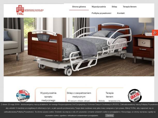Sprzedaż i wynajem łóżek medycznych – TAC