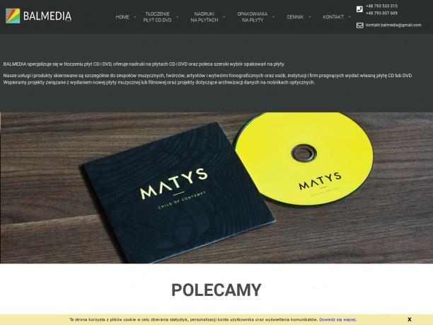Wytwórnia płytowa Balmedia