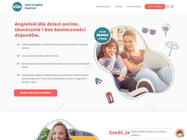Angielski dla dzieci online. Nauka angielskiego w domu.