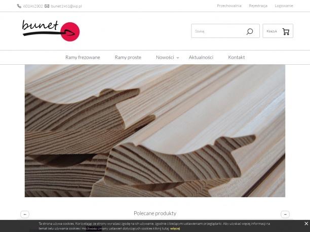 Bunet producent ram drewnianych