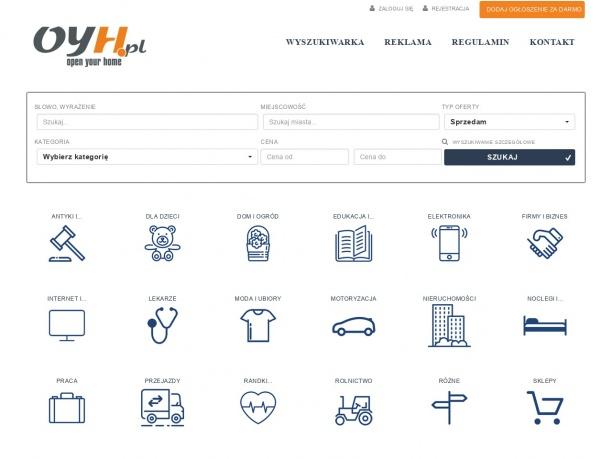 Dodawanie ogłoszenia www.oyh.pl