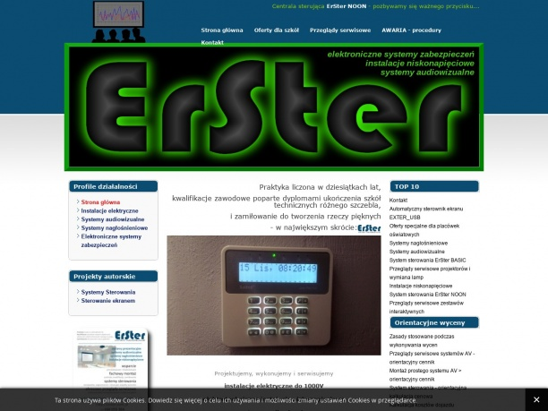 ERSTER - systemy multimedialne