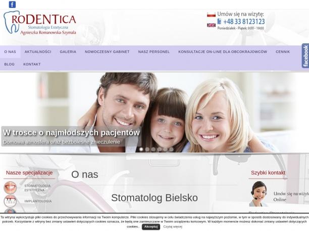 Rodentica - klinika stomatologiczna