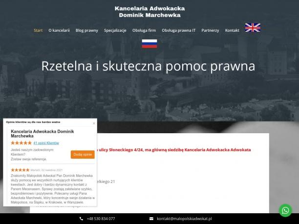 Kancelaria Adwokacka Dominika Marchewki