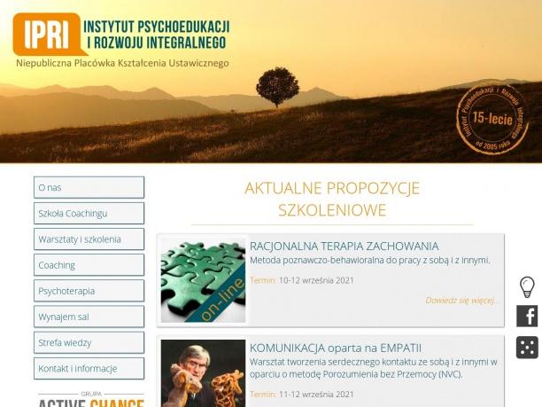 Profesjonalny Instytut Psychoedukacji i Rozwoju Regionalnego